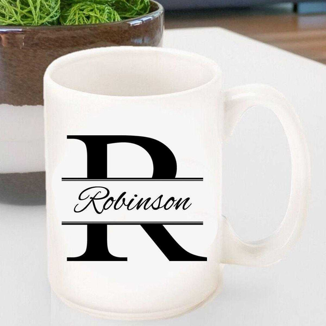 Personalized Coffee Mug - Stamped Design | JDS