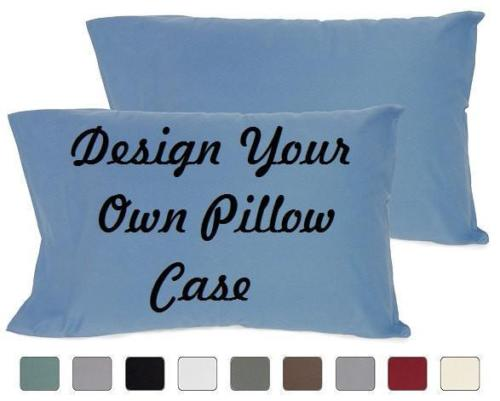 Custom Personalized Designed Pillow Case (Valentine, Wedding, Christmas) | DG Custom Graphics