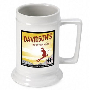 Personalized Ceramic Beer Stein - Personalized Ceramic Beer Mug - All | JDS