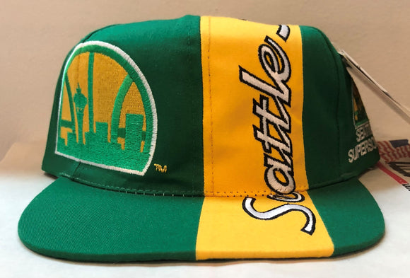 Vintage Nike Seattle Supersonics Hat