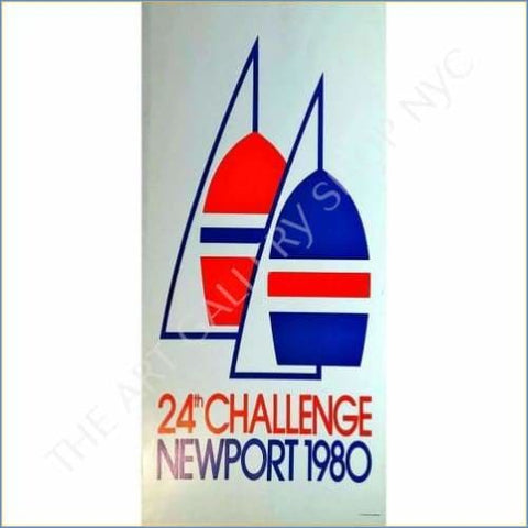 Americas Cup | Yachting Newport 1979 Vintage Poster
