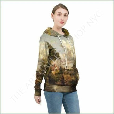 Art Shop | John Constable The White Horse Womens Hoodie