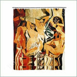 Art Shop | Pablo Picasso The Girls of Avignon 1907 Shower Curtain 72x72
