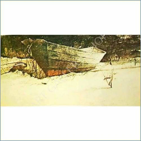 Hubert Shuptrine | Sea of Snow 1970 Original Lithograph
