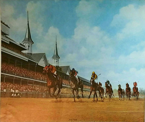 Charles Vittitow Derby Finish 1984 Lithograph Limited Edition Signed in Pencil - The Art Gallery Shop NYC