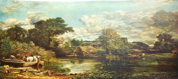 After John Constable The White Horse Lithograph