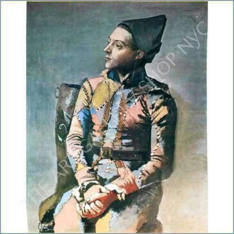 Pablo Picasso | Seated Harlequin 1923 Original Lithograph