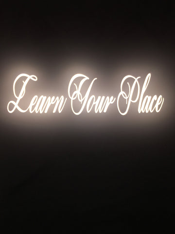 """Learn Your Place"" T-shirt"