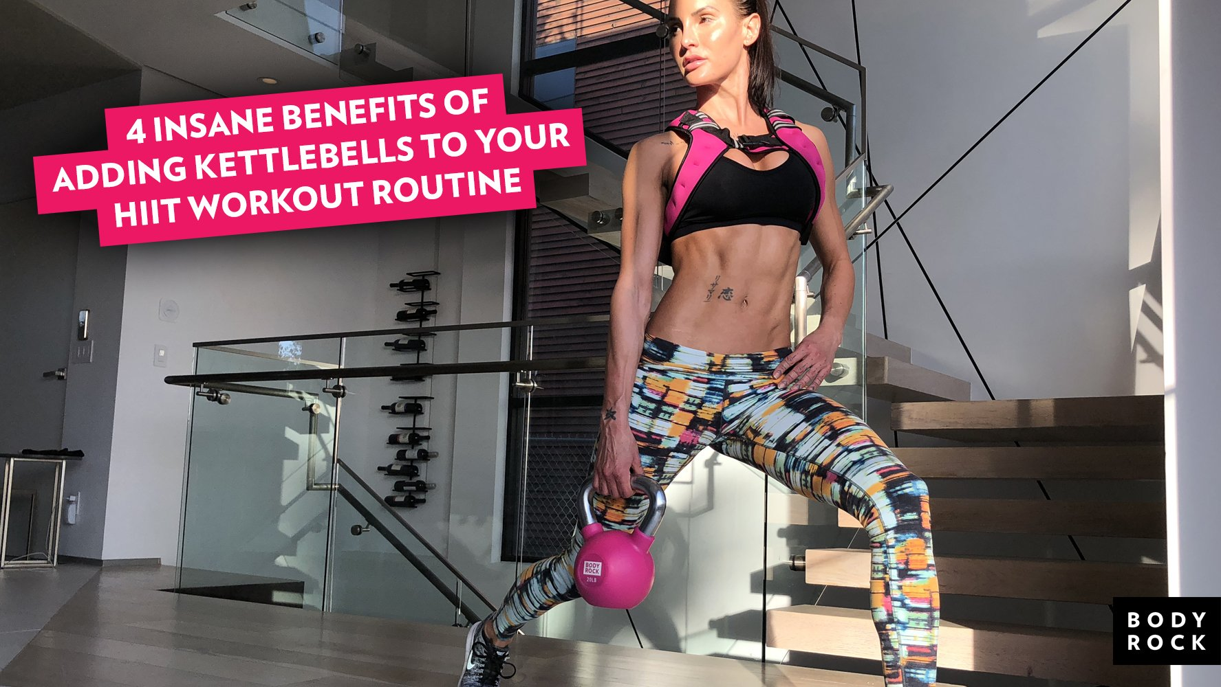 4 Insane Benefits Of Adding Kettlebells To Your HIIT Workout Routine