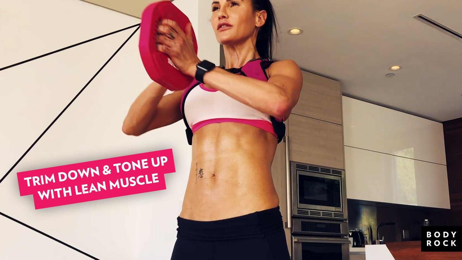 Trim Down And Tone Up With Lean Muscle