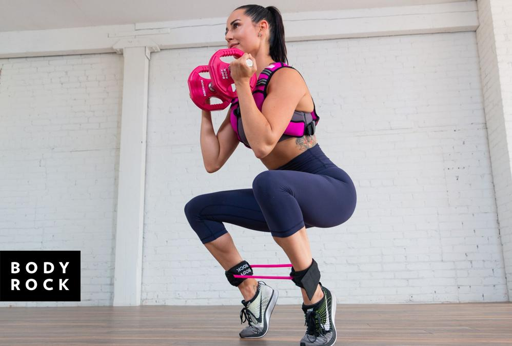 Lunge & Calf Squats: One Move to a Better Behind