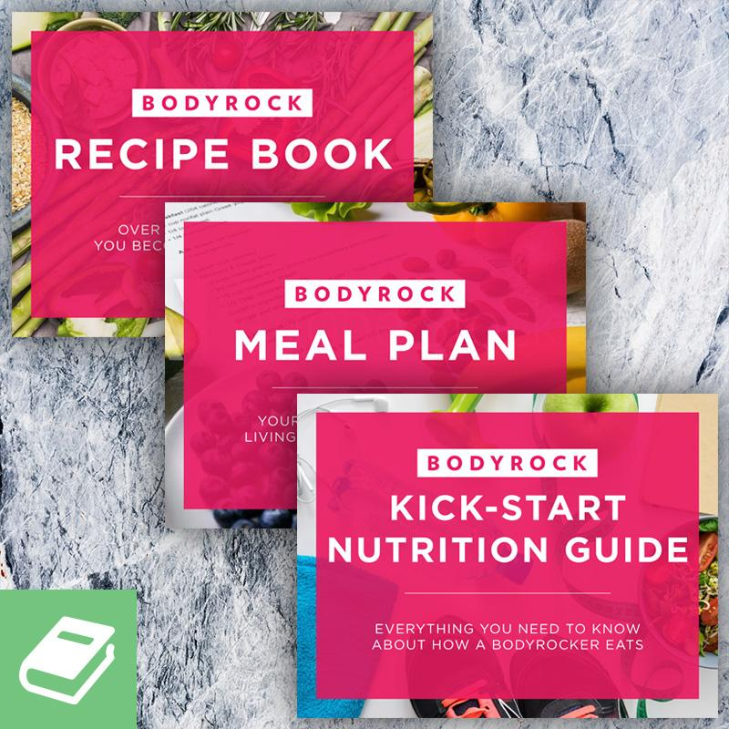 BodyRock Meal Plan and Nutrition Guide Bundle