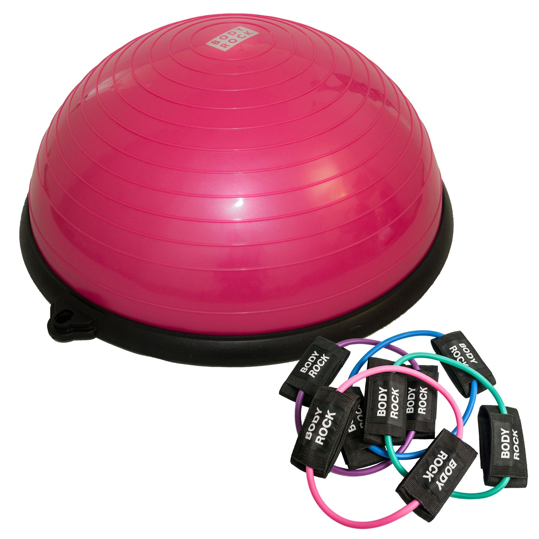 Image of BodyRock Balance Trainer & Booty Band Bundle Pink by BodyRock.Tv