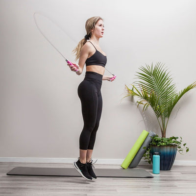 Skipping rope & core bands bundle