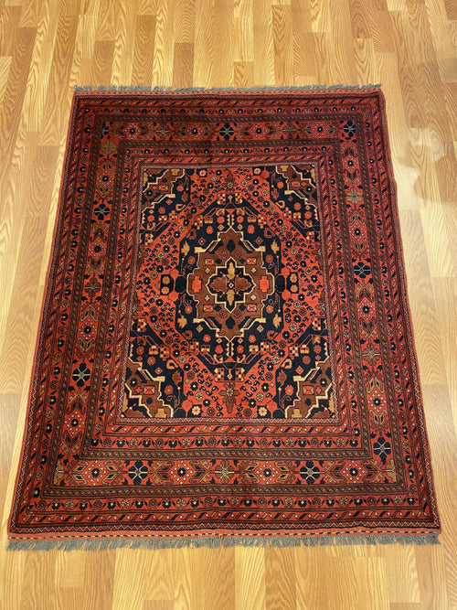 Red - Item BG275 - Baluchi Rug Gallery