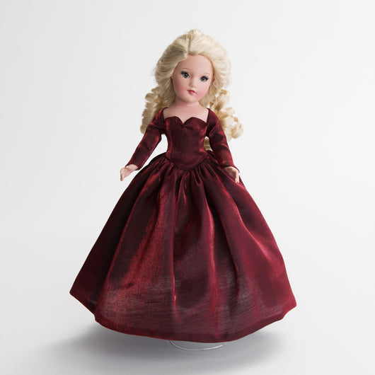 Gown - Cranberry Holiday Shimmer