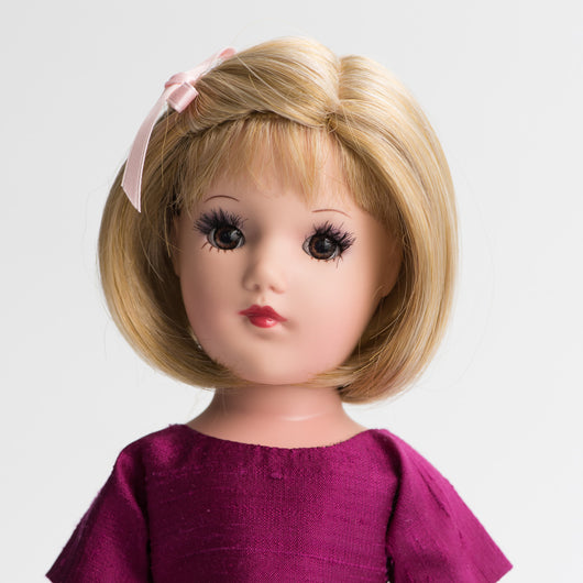 Playdoll - Blonde, Short Bob, Brown Eyes