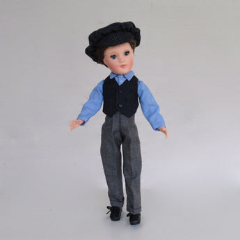 Sportswear-Playdoll-Boy-Blue Oxford Shirt