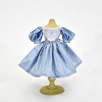 Dress - Periwinkle Silk Taffeta - LE