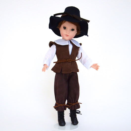 Give Thanks Thanksgiving Pilgrim Costume - Boy