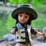 "5 Limited Edition Dolls - ""Gone Fishing with Dad"" - Happy Father's Day - 2020"