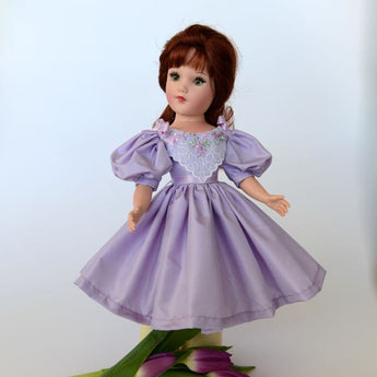 Dress - Lavender Silk Taffeta