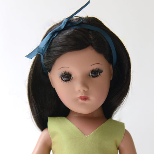Playdoll - Dark Long Straight Hair - Ethnic skin tone