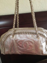 Rare Gold Chanel bag