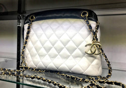 Chanel Vintage Two-Tone Bag
