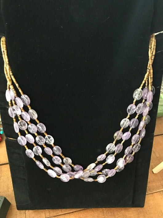 Amethyst Necklace (New!)