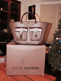 Louis Vuitton Damier Canvas Manosque GM Bag