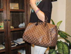 Louis Vuitton Damier Ebene Canvas Speedy 35