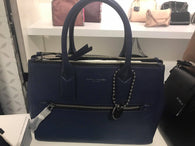 Marc Jacobs Recruit East/West Tote Dark Blue/Gunmetal