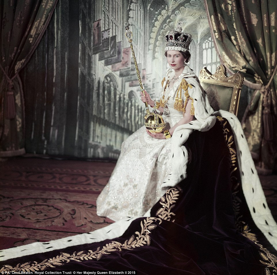 Anniversary Of The Coronation of Queen Elizabeth II on 2 June 1953