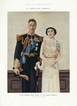 The Coronation of George VI and Queen Elizabeth May 12, 1937