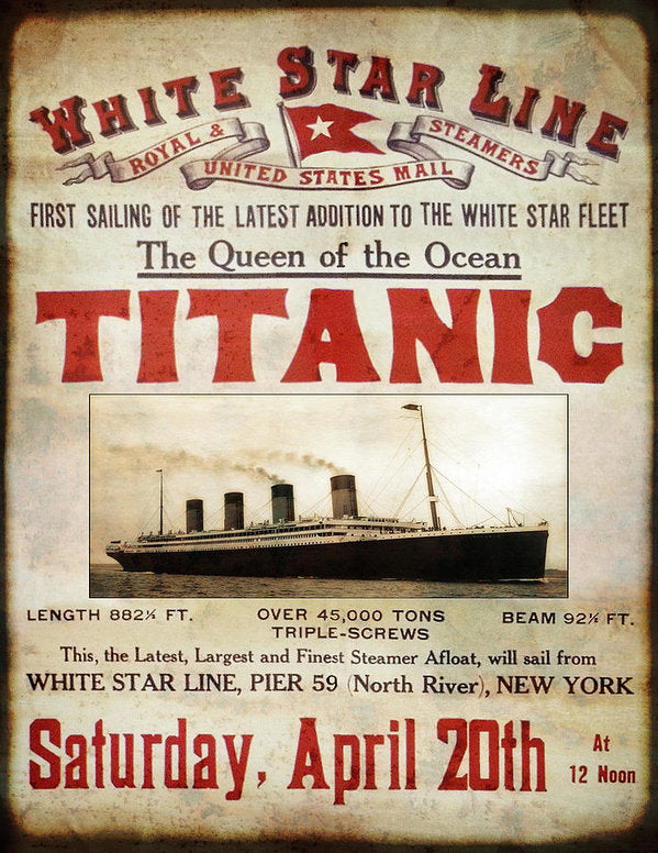 April 14-15, 1912 The Titanic Tragedy