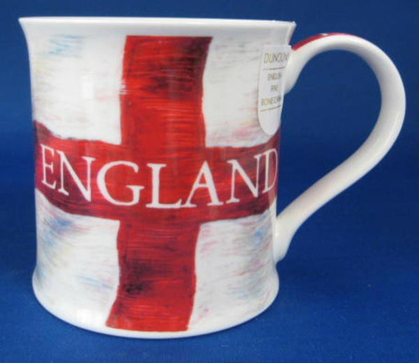 Dunoon Mug England Flag Red White Cross Of St George New