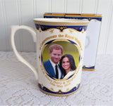 Prince Harry Meghan Wedding 2018 Mug English Bone China Royal Commemorative