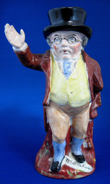 standing Pickwick toby character jug
