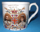 Shelley Mug King George V 1911 Coronation Color Graphics Morecambe