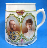 George V And Mary Coronation 1911 Mug Royal Winton Tankard