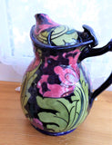 Rare Charlotte Rhead Seed Poppy Cosy Teapot Art Deco Nouveau 1920s Tube Lined Dripless