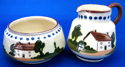 Motto Ware Cream And Sugar 1920s Still Waters And Home's Best