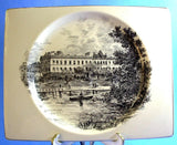 Plate Square Royal Staffordshire Buckingham Palace Square Clarice Cliff 1930s