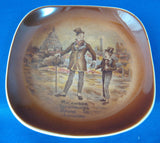 Pin Dish David Copperfield Mr. Micawber Dickens Dish Vintage England 1930s Trinket