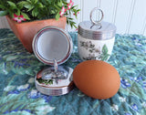 Egg Coddlers 2 Royal Worcester Valencia Early 1930s Orange Blossoms Single Size