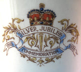 Tall Mug King George V Queen Mary England Silver Jubilee 1935 Royal Memorabilia