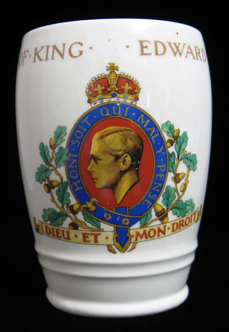 Cup Mug King Edward VIII Coronation Abdicated Beaker 1937