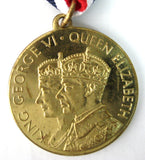 Coronation Medal King George VI And Queen Elizabeth 1937 Coronation Souvenir