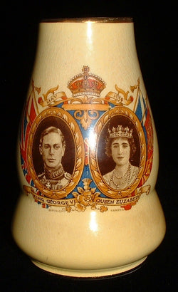 Royal Winton Grimwades Vase George VI Visit To US Canada 1939 Souvenir